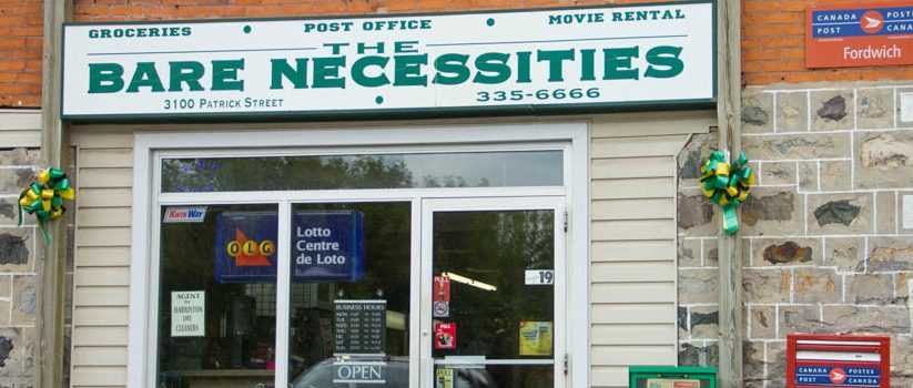 The Bare Necessities Groceries - Postal Office