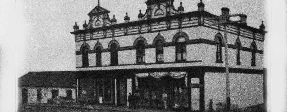 green-block-trading-post 1800s Penetanguishene