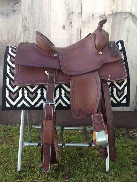 Saddle-Shack_Cowhorse saddle