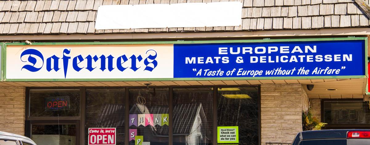 Daferners European Deli, Ein, Ontario